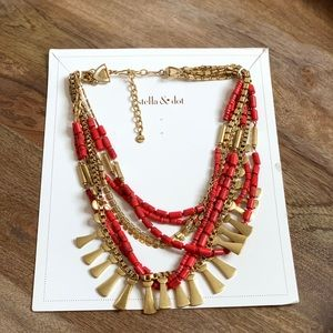 New Stella and Dot Bliss Statement Necklace 3-in-1